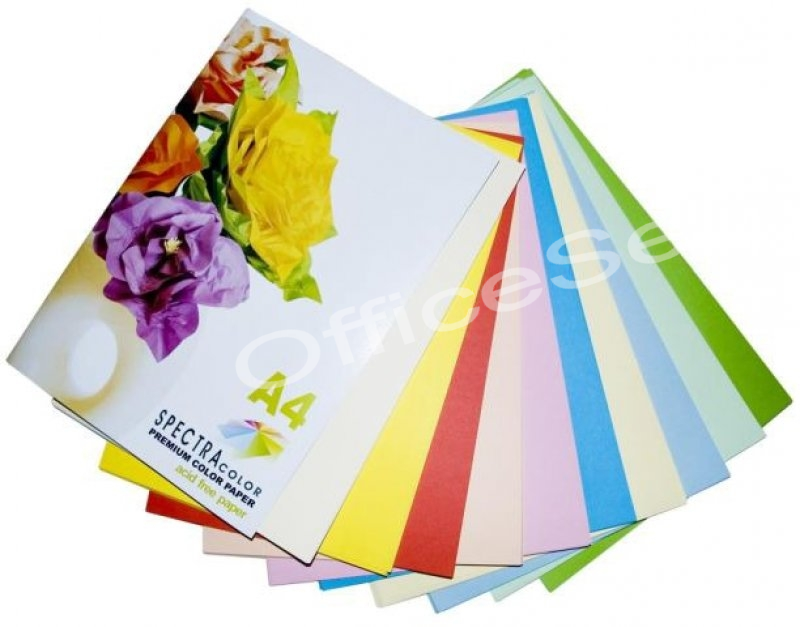 855 Spectra Color Paper A4 80gr Rainbow 10 Color